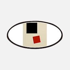 Malevich T-shirt geometric Abstract Art Pa Patches