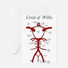 Circle of Willis Greeting Cards