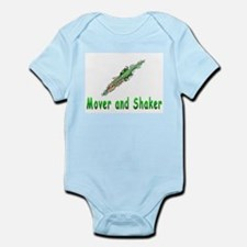 Mover and shaker. Infant Bodysuit