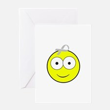Asthma Smiley Greeting Card