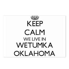 Keep calm we live in Wetu Postcards (Package of 8)