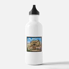 noahs ark cafe press.p Water Bottle