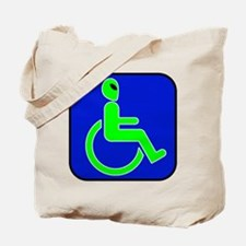 Handicapped Alien Tote Bag