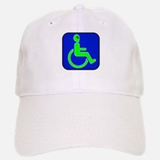 Handicapped Alien Baseball Baseball Cap