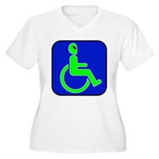 Handicapped Alien T-Shirt