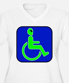 Handicapped Alien T-Shirt