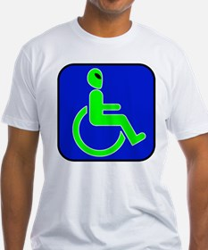 Handicapped Alien Shirt