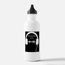 When Ghosts Talk I Lis Water Bottle