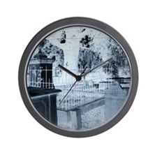 Haunted Cemetery Wall Clock