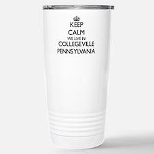 Keep calm we live in Co Travel Mug