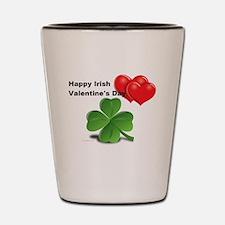 Irish Valentine's Day Shot Glass