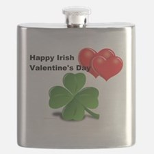 Irish Valentine's Day Flask