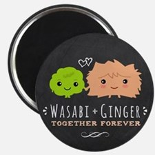 Wasabi and Ginger Magnet
