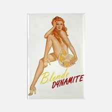 pinup Rectangle Magnet