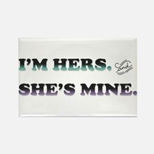 I'm Hers and She's Mine Magnets
