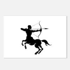 The Centaur Archer Sagitt Postcards (Package of 8)