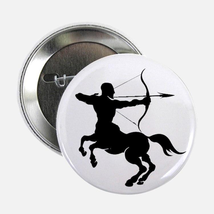 """The Centaur Archer Sagittar 2.25"""" Button (10 pack)"""