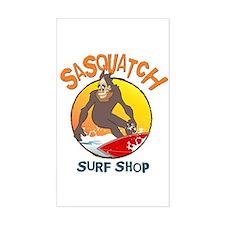 Sasquatch Surf Shop Decal