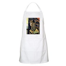 Study of a Cat Apron