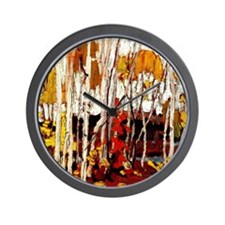 Thomson - Autumn Birces Wall Clock