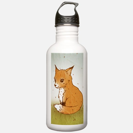 Cute Little Fox Water Bottle