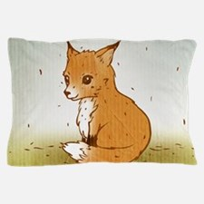 Cute Little Fox Pillow Case