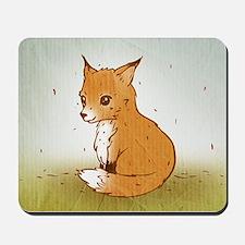 Cute Little Fox Mousepad