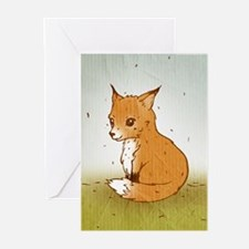 Cute Little Fox Greeting Cards (Pk of 20)