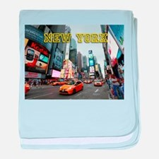 Times Square New York City USA Pro Ph baby blanket