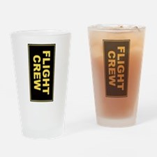 Flight Crew (portrait orientation) Drinking Glass