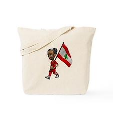 Lebanon Girl Tote Bag