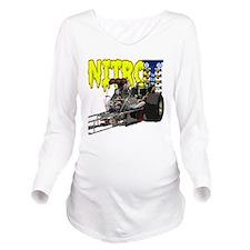 Nostalgia Nitro Long Sleeve Maternity T-Shirt