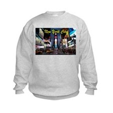 Times Square New York City Sweatshirt