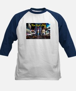 Times Square New York City Baseball Jersey