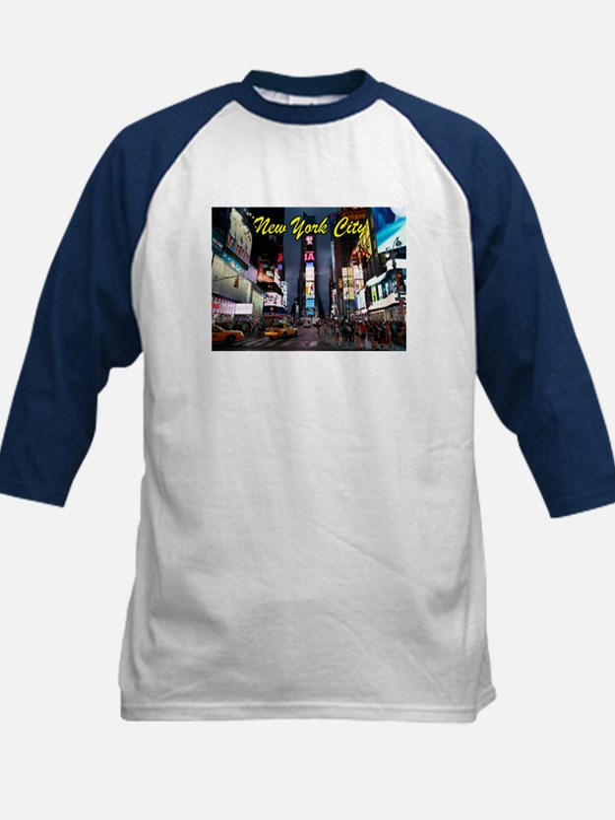 Times Square New York City Baseball Jersey