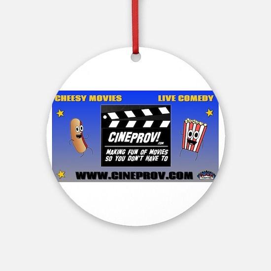 cineprov Ornament (Round)