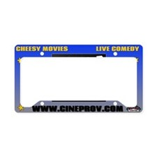 cineprov License Plate Holder