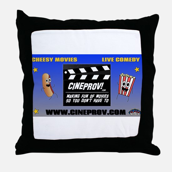 cineprov Throw Pillow