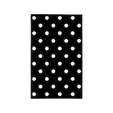Black and white polka dot Bedroom Décor