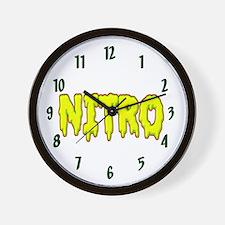Nitro Wall Clock