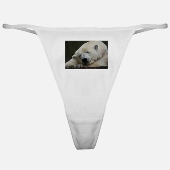 Polar bear 011 Classic Thong