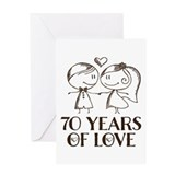70th anniversary Stationery