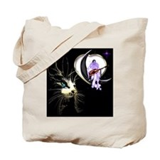 Cat Pierrot Moon Valentine's Day 2 Tote Bag