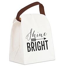 Shine Bright Canvas Lunch Bag