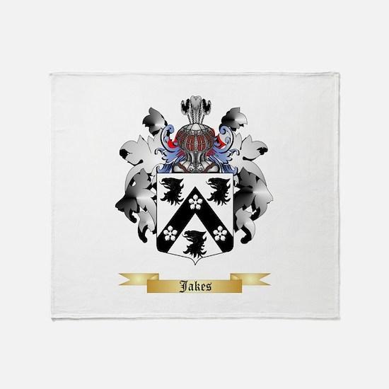 Jakes Throw Blanket