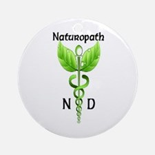 Naturopath Ornament (Round)