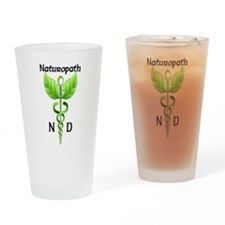 Naturopath Drinking Glass