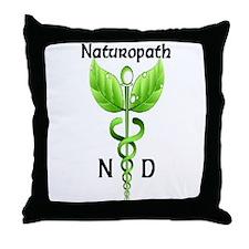 Naturopath Throw Pillow