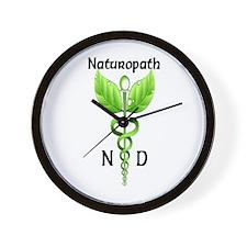 Naturopath Wall Clock