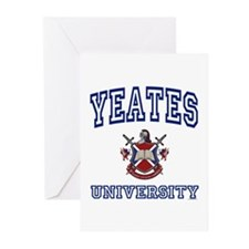 YEATES University Greeting Cards (Pk of 10)
